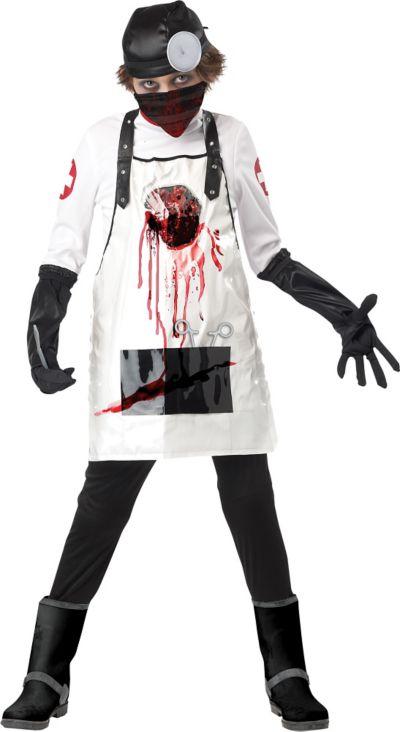 Boys Open Heart Surgeon Costume