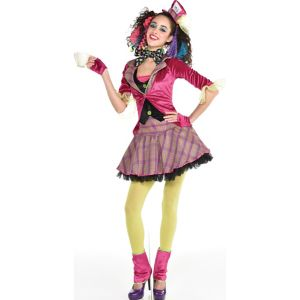 Teen Girls Teatime Mad Hatter Costume