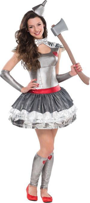 Teen Girls Tin Heartthrob Costume