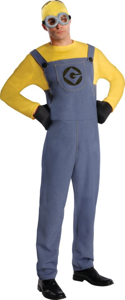 Adult Minion Dave Costume - Despicable Me 2
