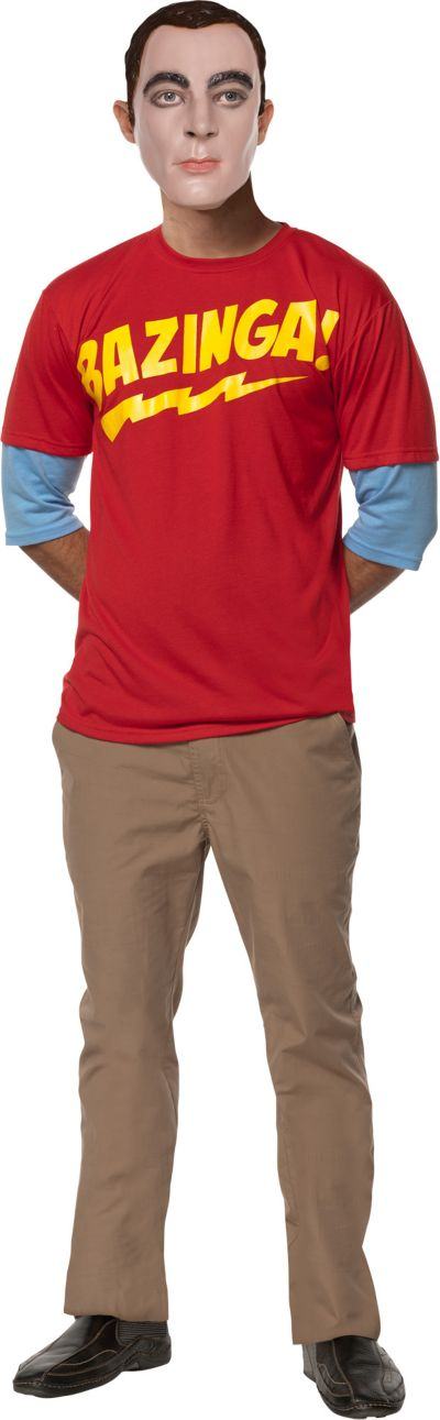 Adult Sheldon Costume - The Big Bang Theory