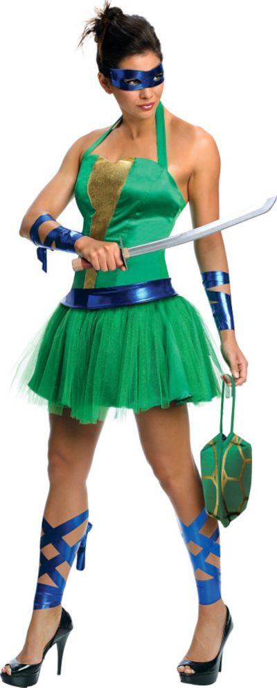 Adult Sassy Leonardo Costume - Teenage Mutant Ninja Turtles