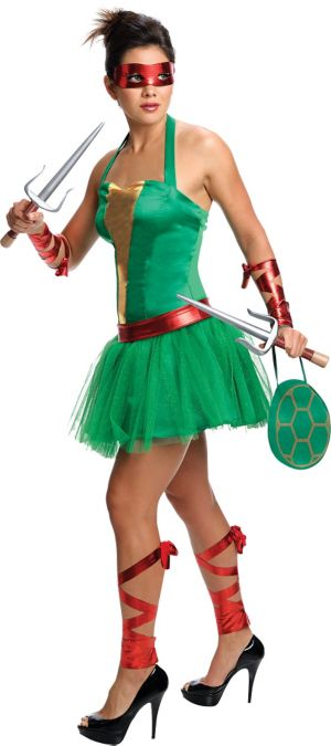 Adult Sassy Raphael Costume - Teenage Mutant Ninja Turtles