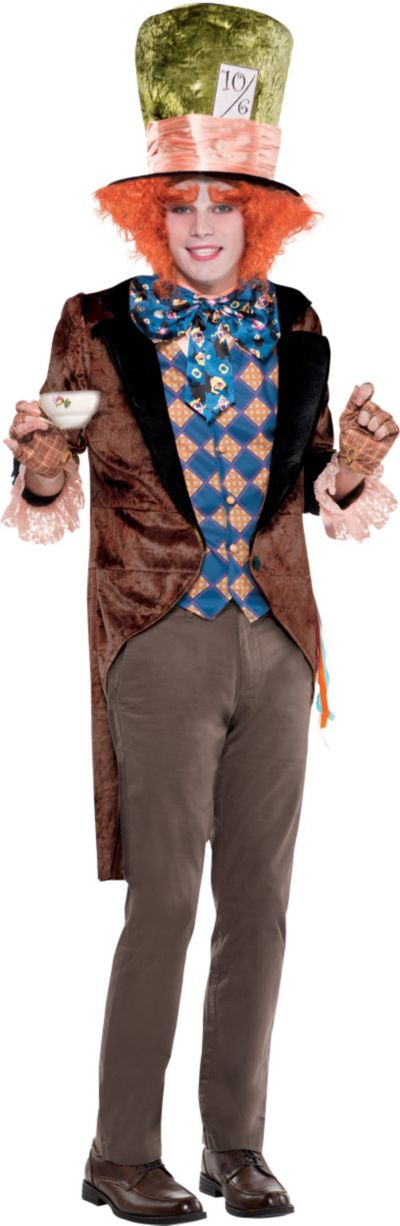 Adult Mad Hatter Costume - Tim Burton's Alice in Wonderland