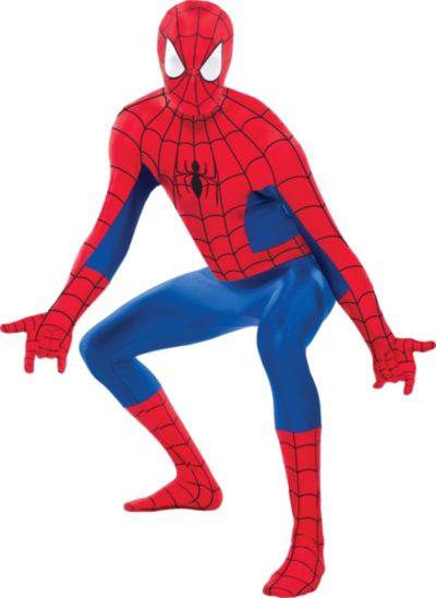 adult spider man partysuit party city