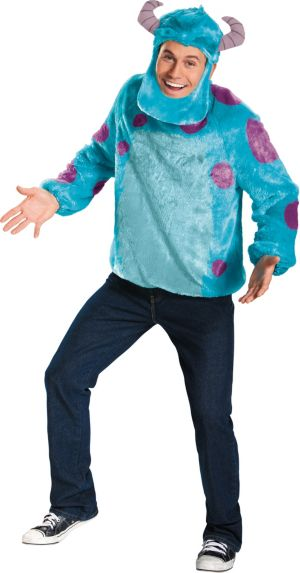 Adult Sulley Costume Deluxe - Monsters University