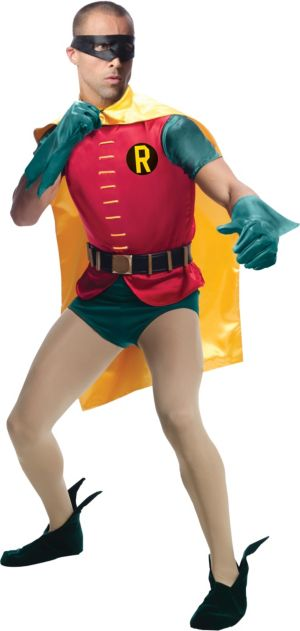 Adult Robin Costume Grand Heritage - Batman