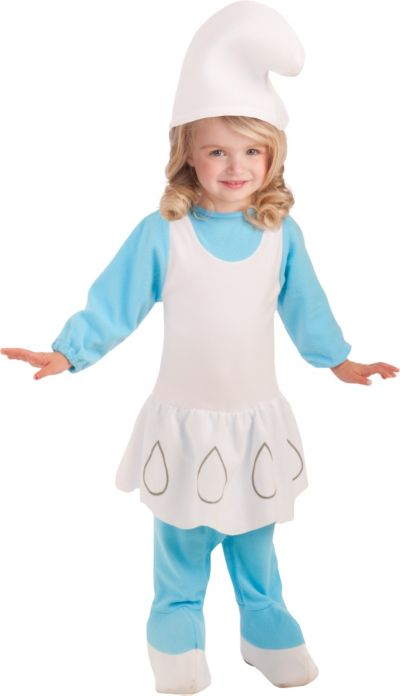 Toddler Girls Smurfette Romper Costume - The Smurfs 2