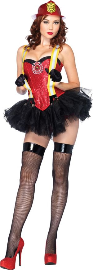 Adult Firehouse Hottie Costume