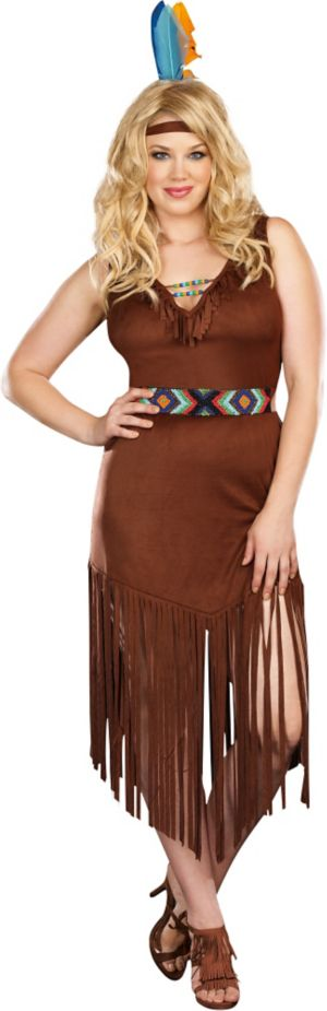 Adult Hot on the Trail Costume Plus Size