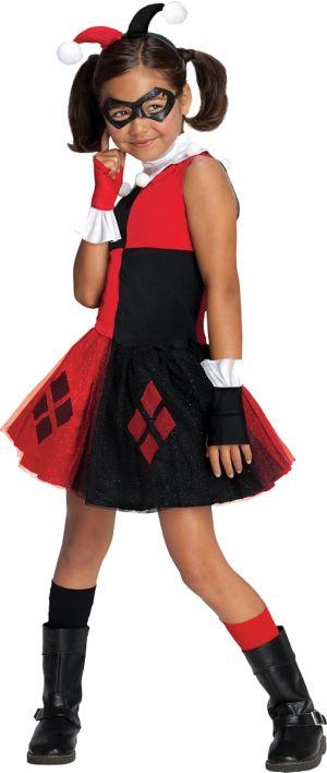 Girls Harley Quinn Costume - Batman