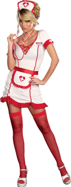 Adult Nurse Juana B Sedated Costume