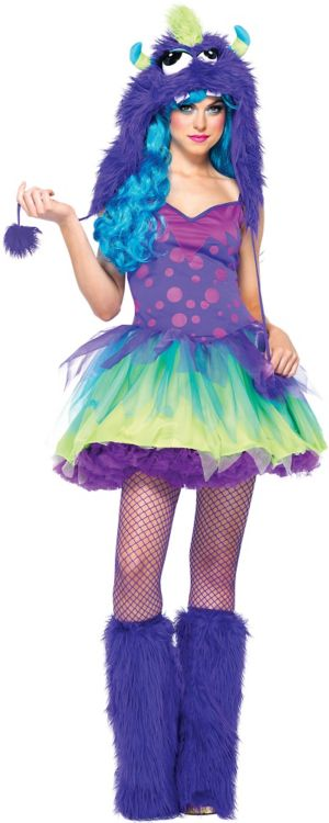 Adult Miss Monster Costume