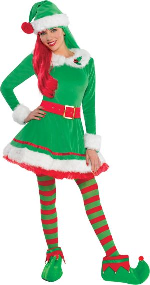 Adult Green Elf Costume