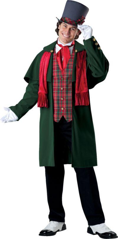 Adult Yuletide Gent Costume