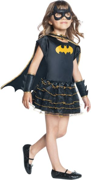 Toddler Girls Tutu Batgirl Costume - Batman