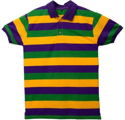Mardi gras rugby shirt party city canada for Lacoste mardi gras rugby shirt