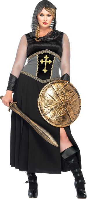 Adult Joan of Arc Costume Plus Size