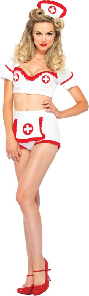 Adult First Aid Flirt Nurse Costume