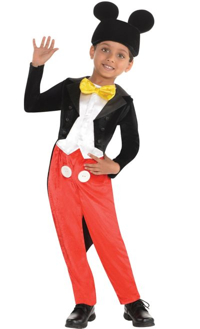 Toddler Boys Mickey Mouse Costume Classic - Party City