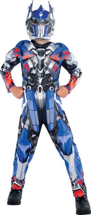 Boys Optimus Prime Muscle Costume - Transformers 4