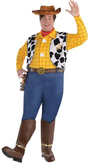 Woody Costumes Adult Woody Costume Pl...