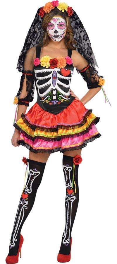 Adult Day of the Dead Senorita Costume
