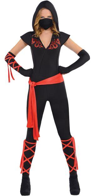 Adult Dragon Fighter Ninja Costume