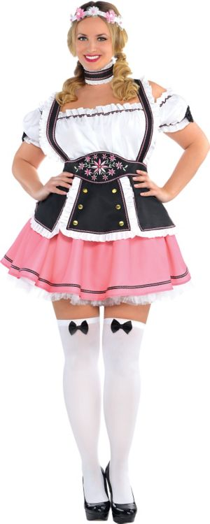 Adult Oktobermiss Beer Maid Costume Plus Size