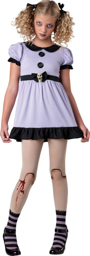 Teen Girls Dead Doll Costume