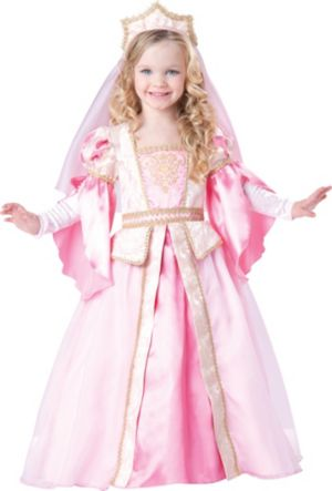 Toddler Girls Medieval Princess Costume