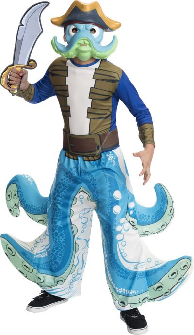 Boys Wash Buckler Costume - Skylanders