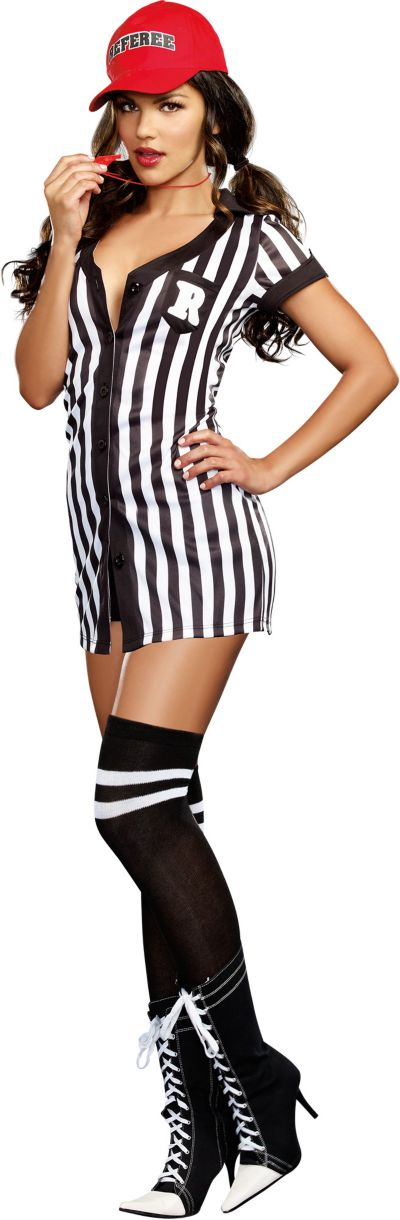 Adult My Game My Rules Referee Costume