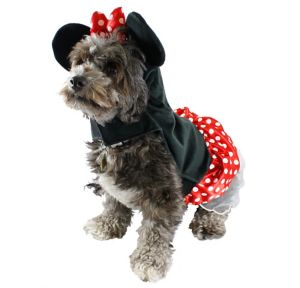 Minnie Mouse Dog Hoodie
