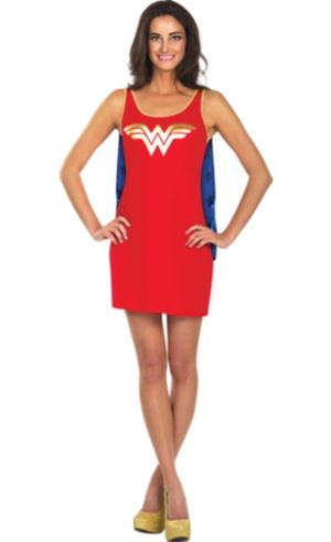Adult Wonder Woman Tank Dress
