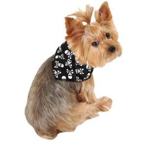Skull-and-Crossbones Dog Bandana