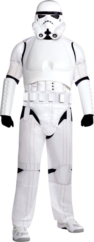 Adult Stormtrooper Costume Plus Size Deluxe - Star Wars