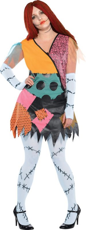 Adult Sally Costume Plus Size- The Nightmare Before Christmas