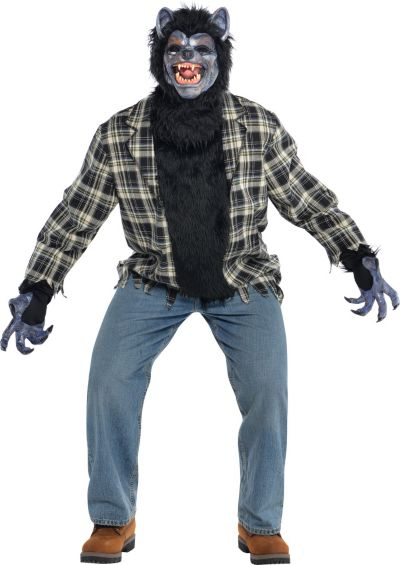 Adult Rabid Werewolf Costume Plus Size