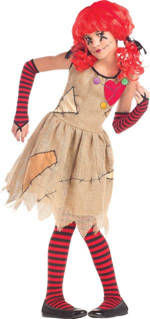 Girls Voodoo Doll Costume