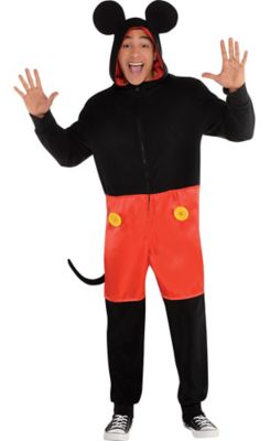 Zipster Mickey Mouse One Piece Costume  sc 1 st  Party City & Teen Boys Costumes - Halloween Costumes for Teenage Boys   Party City