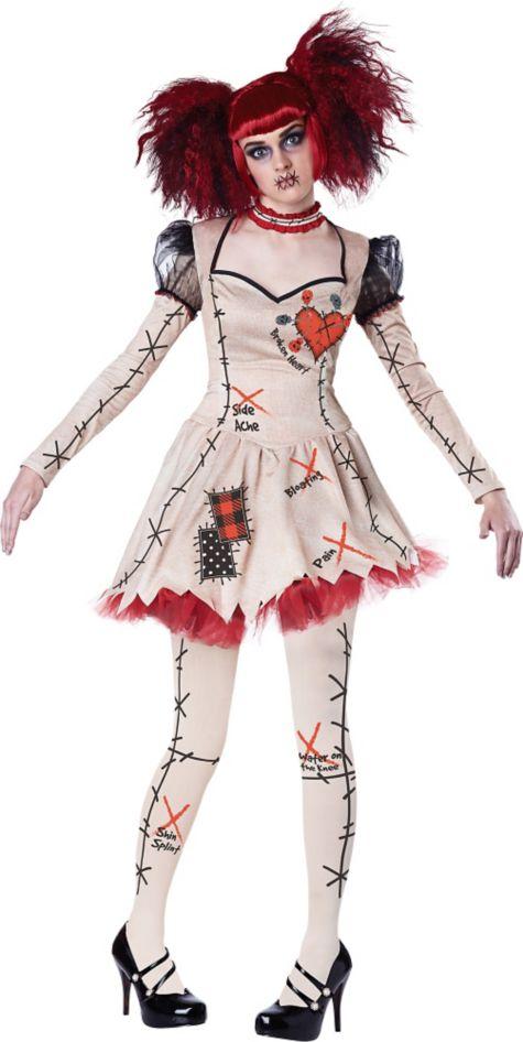 Костюм хэллоуин кукла вуду своими руками 12