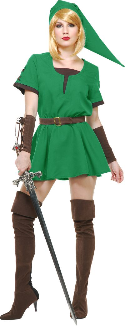 Adult Elf Warrior Princess Costume Party City