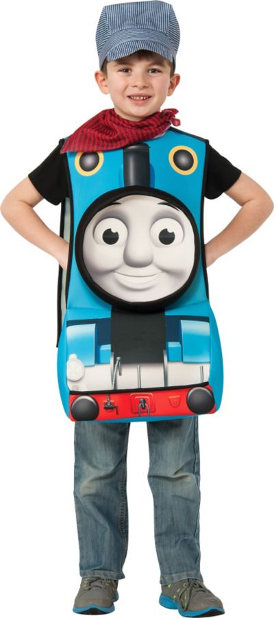 Toddler Boys Thomas the Tank Engine Costume Deluxe - Thomas & Friends