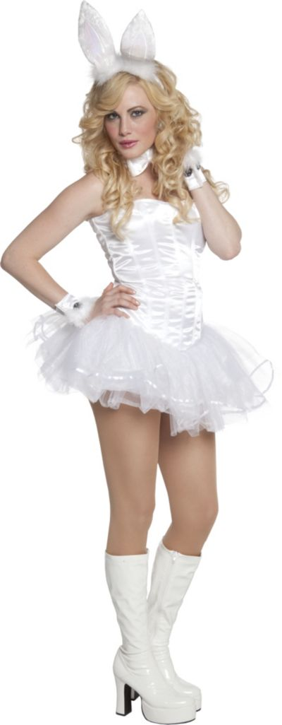 Adult Fluffy Bunny Costume