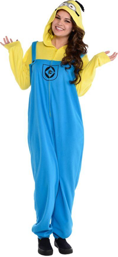 Adult Minion One-Piece Pajamas - Despicable Me  81f99b775