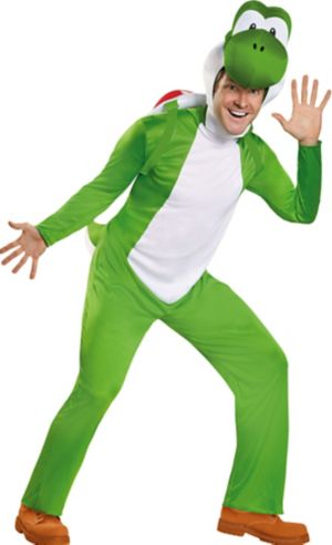 Adult Yoshi Costume Deluxe - Super Mario Brothers