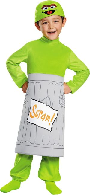 Toddler Boys Oscar the Grouch Costume - Sesame Street
