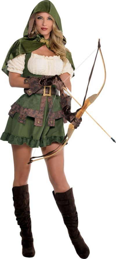 Adult Lady Robin Hood Costume