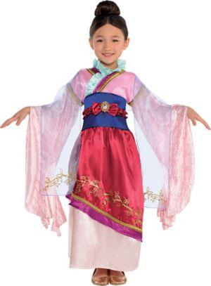 Girls Mulan Costume Classic